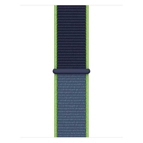 Ремешок Apple Sport Loop для Apple Watch Series 3/4/5/6/SE лайм неон (MXMP2ZM/A) 40мм