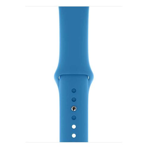 Ремешок Apple Sport Band для Apple Watch Series 3/4/5/6/SE синяя волна (MXP02ZM/A) 44мм
