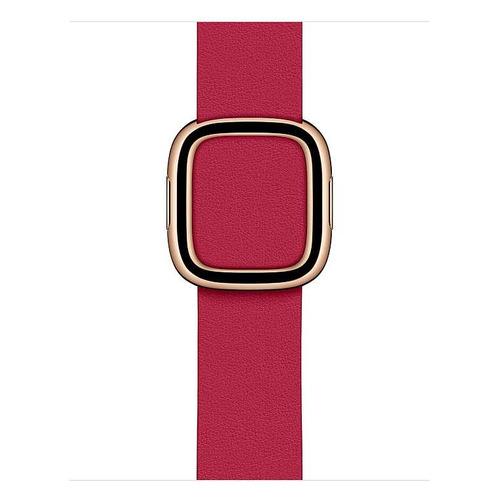 Ремешок Apple Modern Buckle для Apple Watch Series 3/4/5/6/SE малиновый (MXPA2ZM/A) 40мм