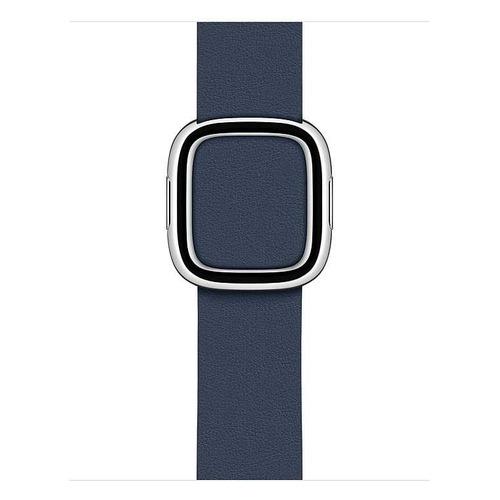 Ремешок Apple Modern Buckle для Apple Watch Series 3/4/5/6/SE синяя пучина (MXPE2ZM/A) 40мм