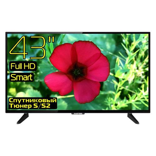 Фото - LED телевизор HARTENS HTS-43FHD03B-S2 FULL HD телевизор hartens htv 32hdr05b