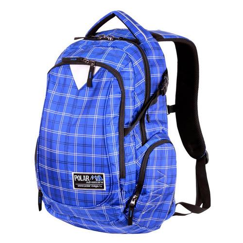 Рюкзак Polar П1572 (П1572-10 СИНИЙ) 32x48x18см 27л. 0.8кг. полиэстер/нейлон синий рюкзак polar к9276