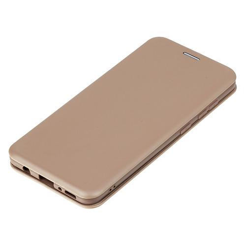 Фото - Чехол (флип-кейс) BORASCO Shell case, для Samsung Galaxy A31, золотистый [39130] чехол флип кейс borasco shell case для samsung galaxy m21 зеленый [39139]