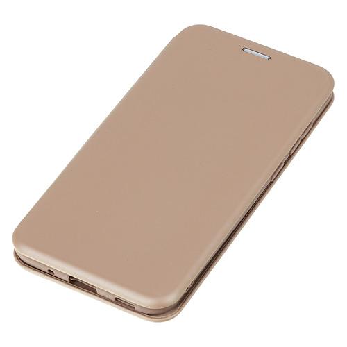 Фото - Чехол (флип-кейс) BORASCO Shell case, для Samsung Galaxy M11, золотистый [39136] чехол флип кейс borasco shell case для samsung galaxy m21 зеленый [39139]