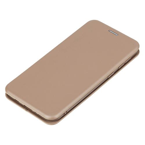 Фото - Чехол (флип-кейс) BORASCO Shell case, для Samsung Galaxy M21, золотистый [39138] чехол флип кейс borasco shell case для samsung galaxy m21 зеленый [39139]