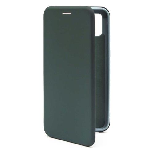 Фото - Чехол (флип-кейс) BORASCO Shell case, для Samsung Galaxy M21, зеленый [39139] чехол флип кейс borasco shell case для samsung galaxy m21 зеленый [39139]