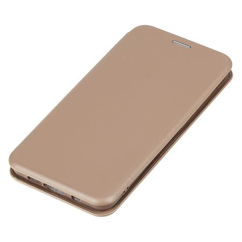 Чехол (флип-кейс) BORASCO Shell case, для Xiaomi Mi Note 10 Lite, золотистый [39145] защитный чехол с микрофиброй для mi 9 lite borasco soft touch синий
