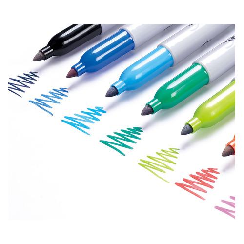 Набор перманентных маркеров PAPER MATE Fine, пулевидный пишущий наконечник, ассорти [1956292]