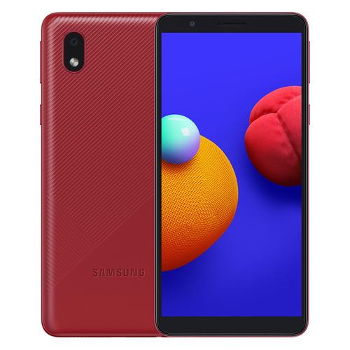 Смартфон SAMSUNG Galaxy A01 Core 16Gb, SM-A013F, красный