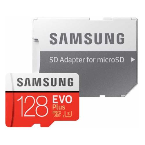 Фото - Карта памяти microSDXC UHS-I U3 SAMSUNG EVO PLUS 128 ГБ, 100 МБ/с, Class 10, MB-MC128HA/RU, 1 шт., переходник SD карта памяти samsung microsdxc evo v2 128gb adapter mb mc128ga ru