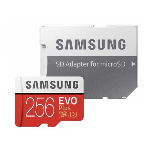 Фото - Карта памяти microSDXC UHS-I U3 SAMSUNG EVO PLUS 256 ГБ, 100 МБ/с, Class 10, MB-MC256HA/RU, 1 шт., переходник SD карта памяти samsung microsdxc evo v2 128gb adapter mb mc128ga ru