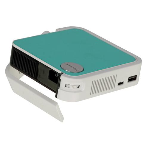 Фото - Проектор VIEWSONIC M1 mini Plus, серый, Wi-Fi [vs18107] проектор xiaomi mi smart compact projector m055mgn бело серый wi fi [x24812]