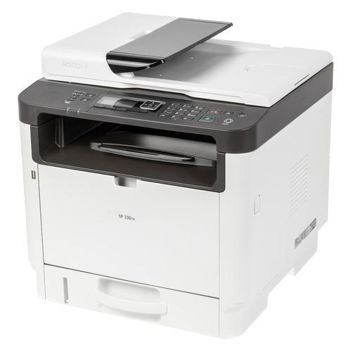 МФУ лазерный Ricoh SP 330SN, A4, лазерный, черно-белый [408274]