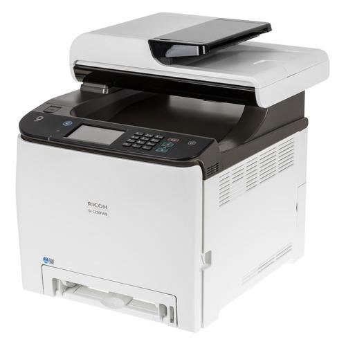 МФУ лазерный Ricoh M C250FWB, A4, цветной, лазерный, черно-белый [408327]