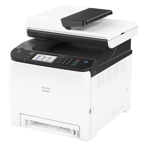 МФУ лазерный Ricoh M C250FW, A4, цветной, лазерный, черно-белый [408329]