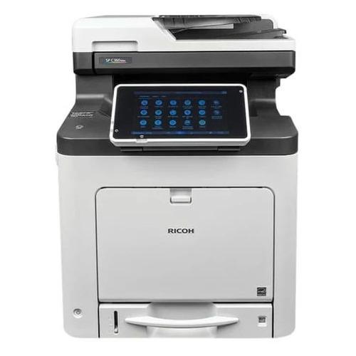 МФУ лазерный Ricoh SP C360SNw, A4, цветной, светодиодный, черно-белый [408173]