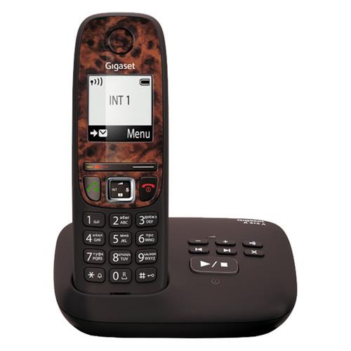Радиотелефон GIGASET A415A RUS Espresso, коричневый [s30852-h2525-s304]