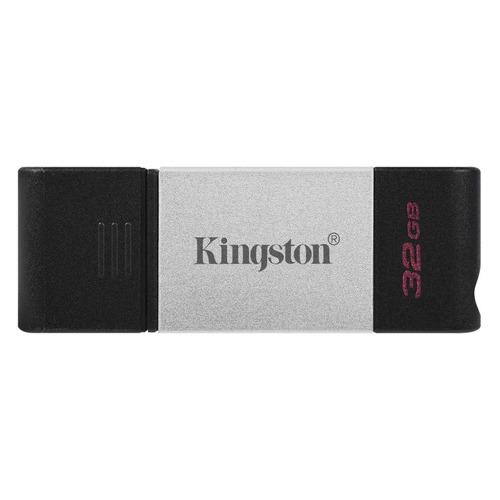 Фото - Флешка USB (Type-C) KINGSTON DataTraveler 80 DT80/32GB 32ГБ, USB3.0, черный usb флешка leef ibridge 3 32gb черный