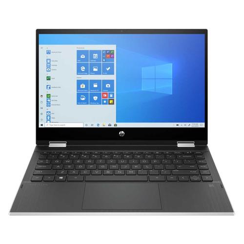 Ноутбук-трансформер HP Pavilion x360 14-dw0038ur, 14, Intel Core i3 1005G1 1.2ГГц, 8ГБ, 128ГБ SSD, Intel UHD Graphics , Windows 10, 249W9EA, серебристый ноутбук acer aspire 3 a315 56 31tb 15 6 intel core i3 1005g1 1 2ггц 4гб 128гб ssd intel uhd graphics windows 10 nx hs5er 00n черный