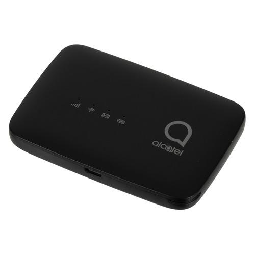 Модем ALCATEL Link Zone MW45V 3G/4G, внешний, черный [mw45v-2aalru1]