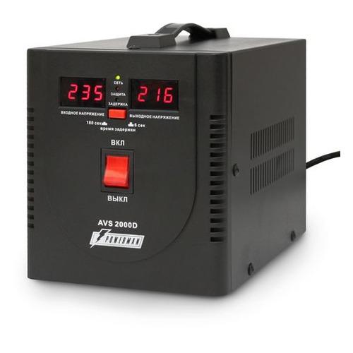 Стабилизатор напряжения POWERMAN AVS 2000D черный