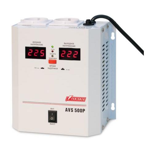 Фото - Стабилизатор напряжения POWERMAN AVS-500P стабилизатор powerman avs 500p