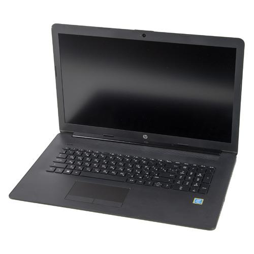"Ноутбук HP 17-by2019ur, 17.3"", Intel Pentium Gold 6405U 2.4ГГц, 4ГБ, 256ГБ SSD, Intel UHD Graphics , DVD-RW, Windows 10, 22Q63EA, черный"