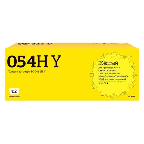 Картридж T2 TC-C054H Y, желтый / TC-C054H Y