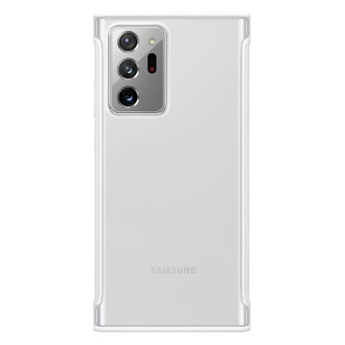 Фото - Чехол (клип-кейс) Samsung Clear Protective Cover, для Samsung Galaxy Note 20 Ultra, белый [ef-gn985cwegru] чехол клип кейс samsung galaxy note 20 ultra silicone cover белый ef pn985twegru