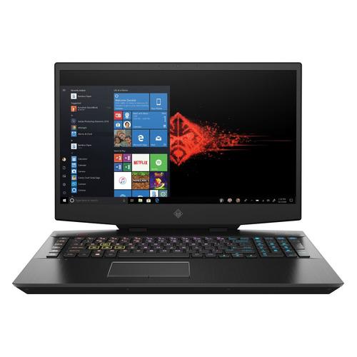 Фото - Ноутбук HP Omen 17-cb1040ur, 17.3, IPS, Intel Core i7 10750H 2.6ГГц, 32ГБ, 1ТБ SSD, NVIDIA GeForce RTX 2080 Super - 8192 Мб, Windows 10, 22R59EA, черный ноутбук hp omen 15 ce008ur 2500 мгц