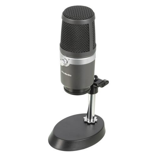 Микрофон AVERMEDIA AM 310, черный [40aaam310anb]
