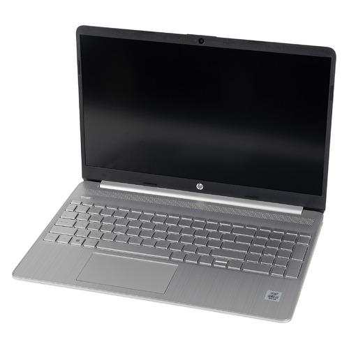 Ноутбук HP 15s-fq1104ur i3 1005G1/8Gb/SSD512Gb/15.6 /IPS/FHD/W10/silver  - купить со скидкой