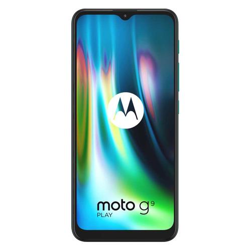 Смартфон MOTOROLA G9 PLay 64Gb, XT2083-3, зеленый