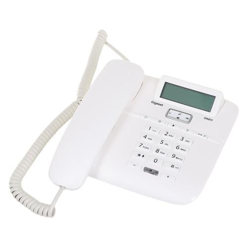 Проводной телефон GIGASET DA611, белый