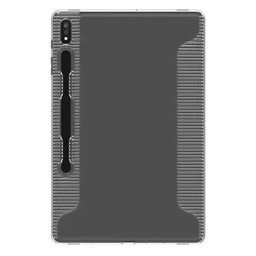 Чехол для планшета SAMSUNG WITS Soft Cover Clear, для Samsung Galaxy Tab S7+ [gp-fpt976wsatr]