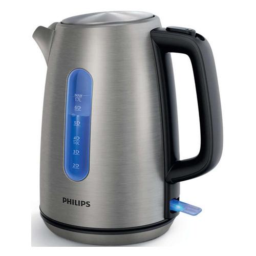 Чайник электрический PHILIPS HD9357/10, 2200Вт, нержавеющая сталь
