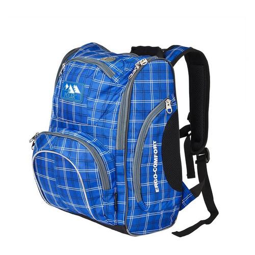 Рюкзак Polar П3065А-04 ERGO-COMFORT (П3065А-04 СИНИЙ) 28x40x17см 19л. 1.08кг. полиэстер/нейлон син рюкзак polar к9276