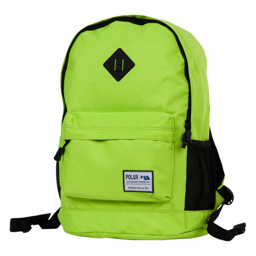 Рюкзак Polar 15008 (15008 GREEN) 29x43x18см 22.5л. 0.5кг. полиэстер/нейлон зеленый рюкзак polar к9276