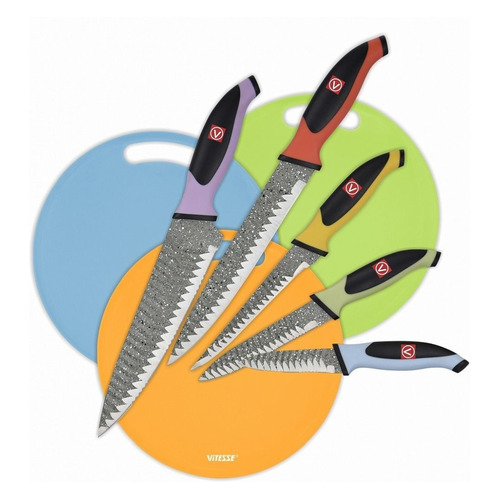 Фото - Набор кухонных ножей Vitesse VS-8138 набор ножей vs legend