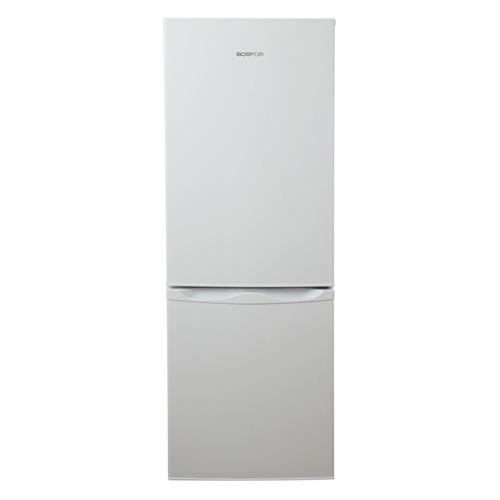 Холодильник BOSFOR BFR 143 W, двухкамерный, белый