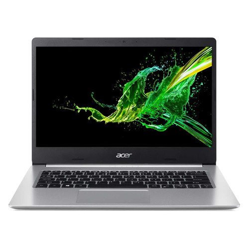 Ноутбук ACER Aspire 5 A514-53-592B, 14, IPS, Intel Core i5 1035G1 1.0ГГц, 8ГБ, 256ГБ SSD, Intel UHD Graphics , Eshell, NX.HUSER.005, серебристый ноутбук acer aspire 3 a317 52 53ae 17 3 intel core i5 1035g1 1 0ггц 8гб 256гб ssd intel uhd graphics eshell nx hzwer 00u черный