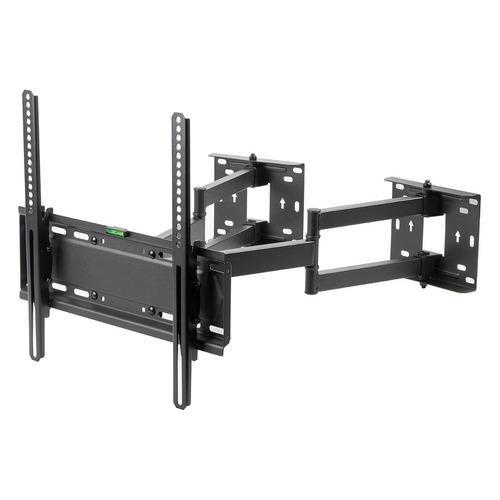 Кронштейн для телевизора KROMAX GALACTIC-44, 32-70 , настенный, поворотно-выдвижной и наклонный, черный  - купить со скидкой