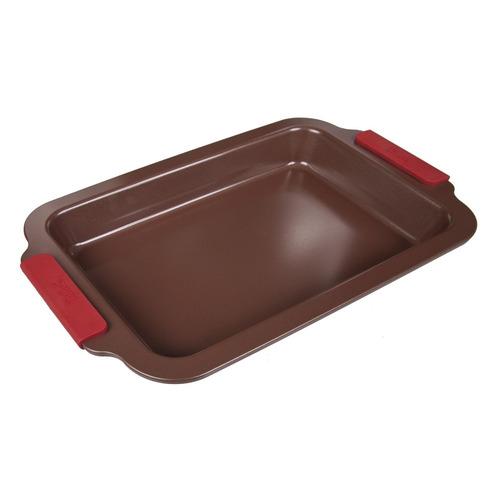 Форма для выпечки Taller TR-66302 прямоуг. 36х23х3.5см сталь углеродистая коричневый (66302) недорого
