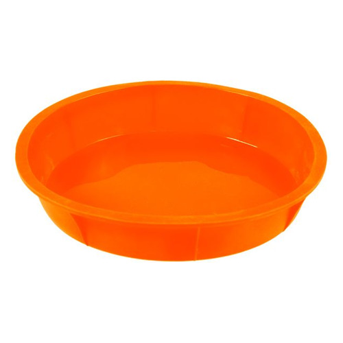 Форма для выпечки Taller TR-6204 кругл. d=26см силикон оранжевый (6204) форма прямоугольная taller tr 6303 40 27 4 5см