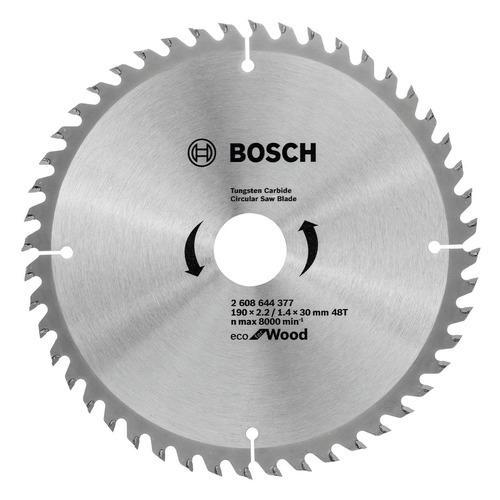 Пильный диск BOSCH ECO WO, по дереву, 190мм, 1.4мм, 30мм [2608644377]