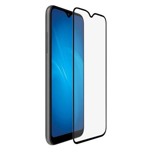 Защитное стекло для экрана DF sColor-91 для Samsung Galaxy A01/M01 1 шт, черный [df scolor-91 (black)]