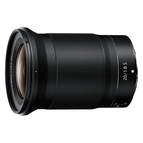 Объектив NIKON 20mm f/1.8 Nikkor Z, Nikon Z, черный [jma104da]