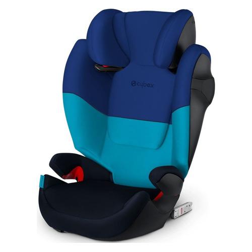 Автокресло детское CYBEX Solution M-Fix SL, 2/3, от 3 лет до 12 лет, синий/темно-синий автокресло детское cybex pallas 2 fix 1 2 3 от 9 мес до 12 лет синий темно синий