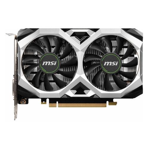 Видеокарта MSI NVIDIA GeForce GTX 1650 , GTX 1650 D6 VENTUS XS OCV1, 4ГБ, GDDR6, OC, Ret видеокарта msi nvidia geforce gtx 1660super gtx 1660 super ventus xs ocv1 6гб gddr6 oc ret