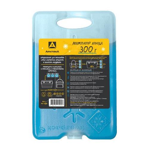 Аккумулятор холода АРКТИКА АХ-300, 0.3л, голубой, 1шт